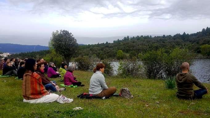 Meditar en la naturaleza